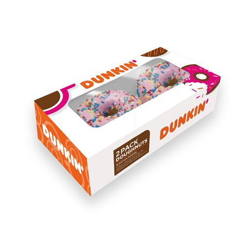 Picture of Dunkin Donut Strawberry Sprinkle 2s