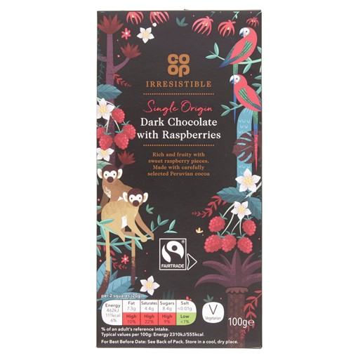 Picture of Co-op Irresistible FT Dark Chocolat