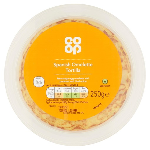 Picture of Co-Op Spanish Omelette Tortilla 250g