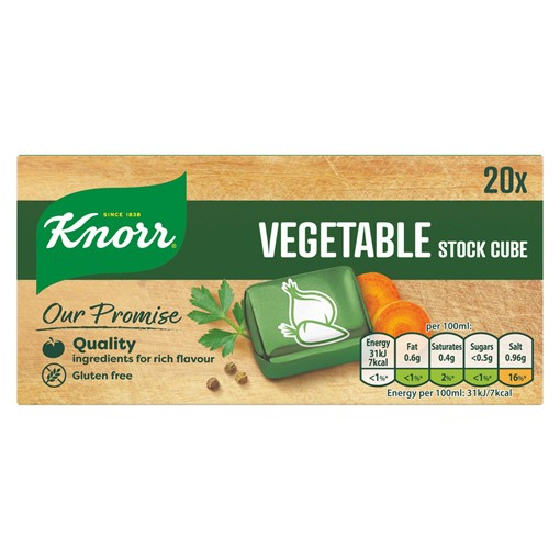 Picture of Knorr Vegetable Stock cubes 20 x 10 g