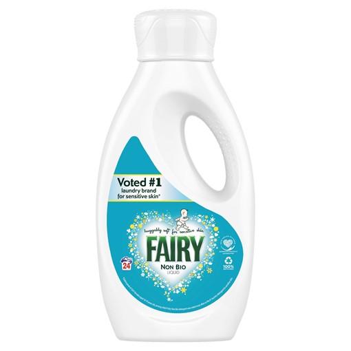 Picture of Fairy Non Bio Washing Liquid 840ml 24 Washes