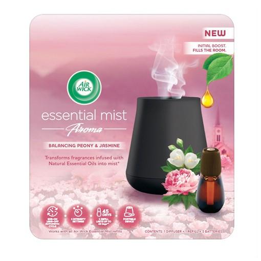 Picture of Air Wick Essential Mist Aroma Kit, Balancing Peony & Jasmine 20ml