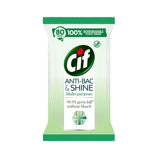 Picture of Cif Disinfectant Antibacterial Wipes 80 wipes