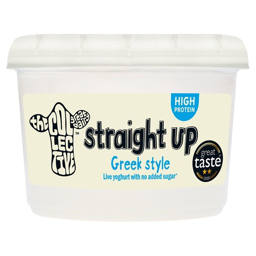 Picture of The Collective Straight Up Greek-Style Yoghurt 450g