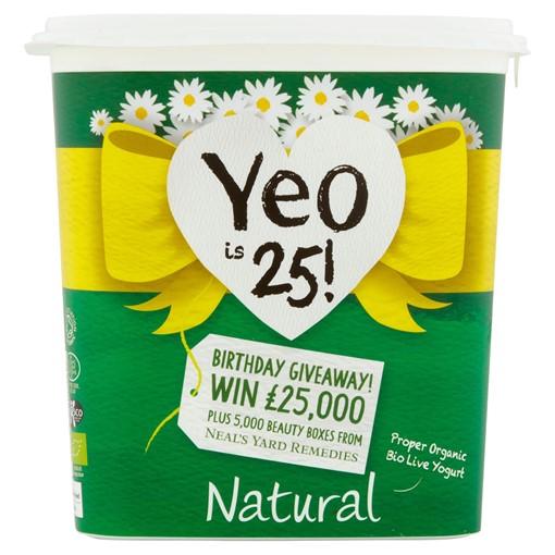 Picture of Yeo Valley Organic Natural Creamy Bio Live Yogurt 1kg