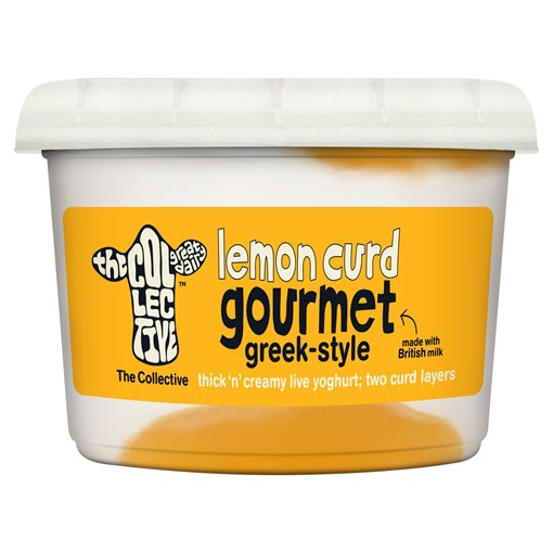 Picture of The Collective Gourmet Lemon Curd Greek-Style Yoghurt 450g