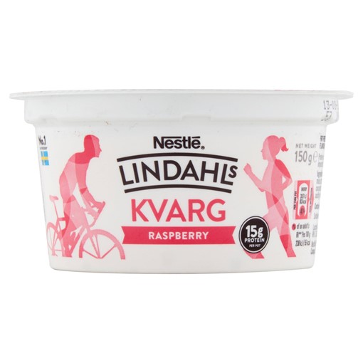 Picture of Lindahls Kvarg Raspberry 150g
