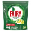Picture of Fairy Original All In One Dishwasher Tablets, Lemon, 29 Capsules