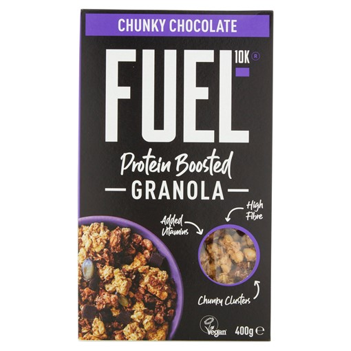 Picture of FUEL10K Protein Boosted Chocolate Chunks Granola 400g