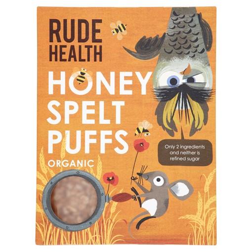Picture of Rude Health Organic Honey Spelt Puffs 175g