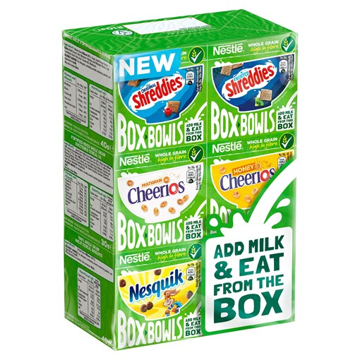 Picture of Nestlé Box Bowls Cereal 210g