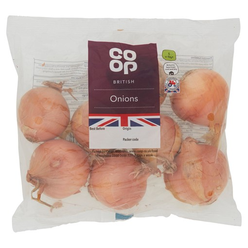 Picture of Co-op Brown Onions 750G