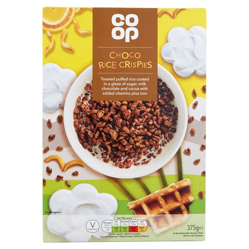 Picture of Co-op Choco Rice Crispies 375g