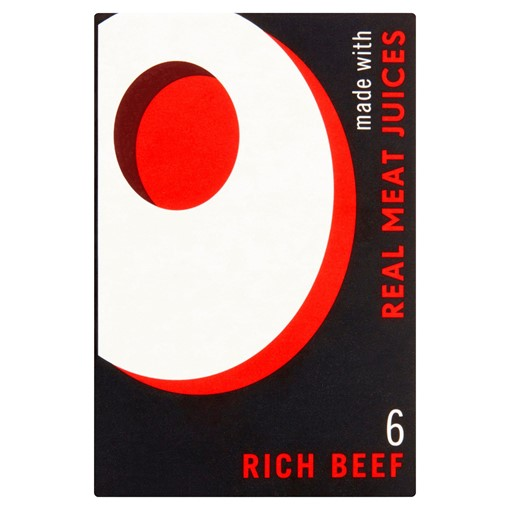 Picture of OXO Rich Beef Stock Cube 6