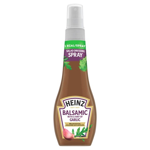Picture of Heinz Balsamic with a Hint of Garlic Salad Dressing Spray 200ml