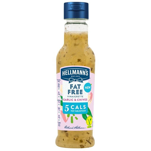 Picture of Hellmann's Garlic and Chive Salad Dressing 210 ml
