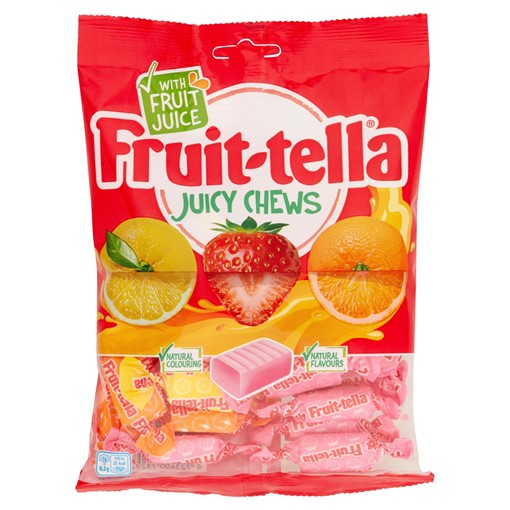 Picture of Fruit-tella Juicy Chews 170g