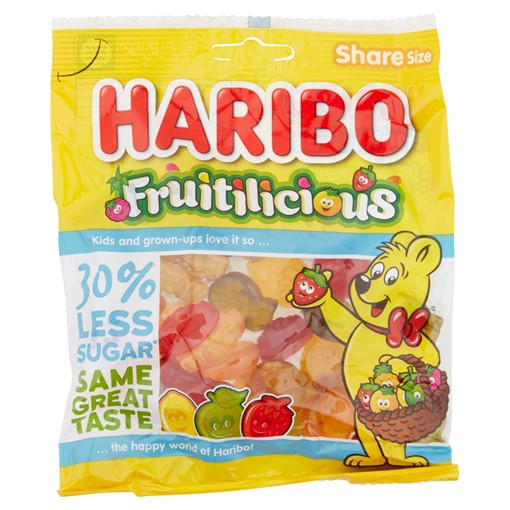 Picture of HARIBO Fruitilicious Bag 150g