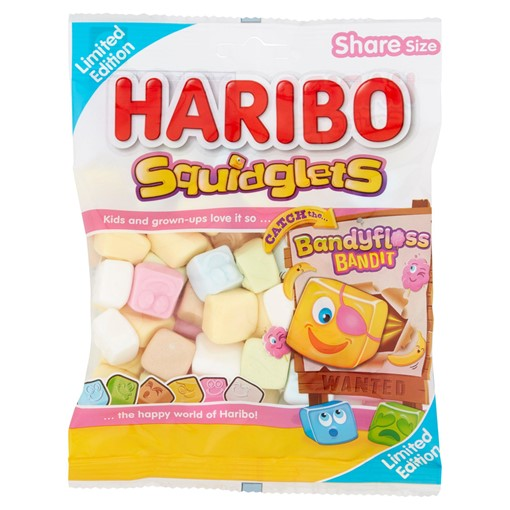 Picture of HARIBO Squidglets Limited Edition Bag 175g