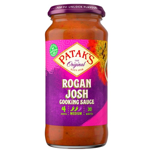 Picture of Patak's Rogan Josh Curry Sauce 450g