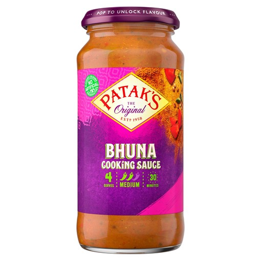 Picture of Patak's Bhuna Curry Sauce 450g