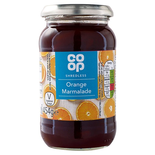 Picture of Co Op Shredless Orange Marmalade 454g