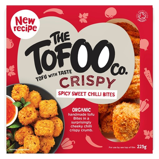 Picture of The Tofoo Co. Crispy Spicy Sweet Chilli Bites 225g