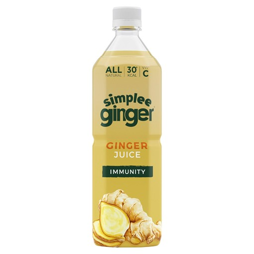 Picture of Simplee Ginger Ginger Juice Immunity 1 Litre