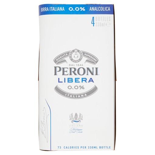 Picture of Peroni Libera 0.0% 4 x 330ml