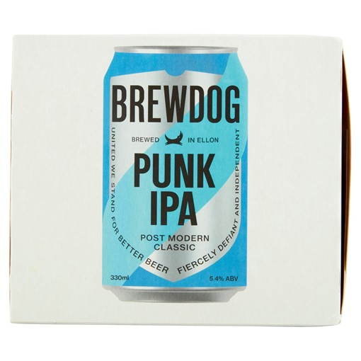 Picture of BrewDog Punk Post Modern Classic IPA 4 x 330ml
