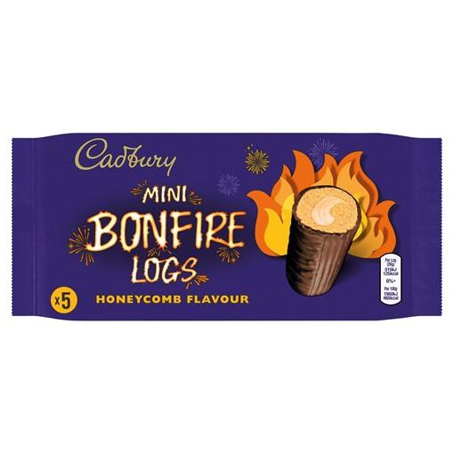 Picture of Cadbury 5 Mini Bonfire Logs Honeycomb Flavour