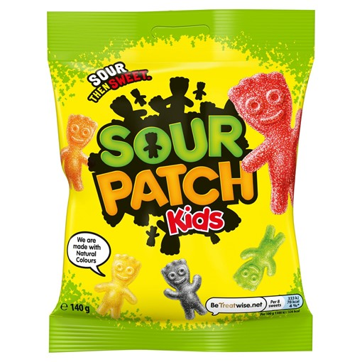 Picture of Sour Patch Kids Sweets Bag 140g