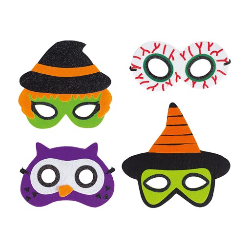 Picture of @Halloween Eye Mask 4 Asst