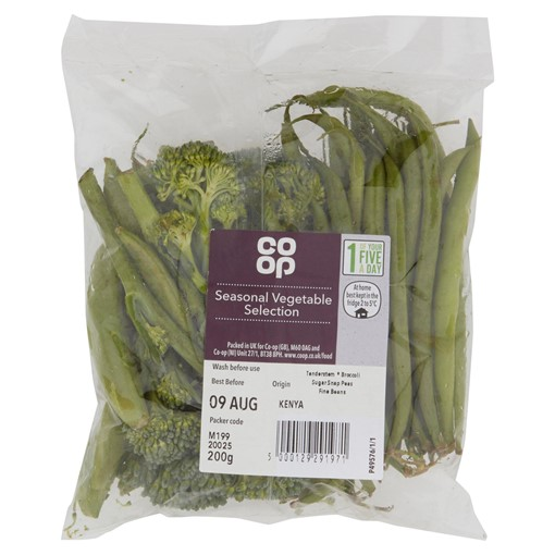 Picture of Co-op Seasonal Vegetable Selection 200g