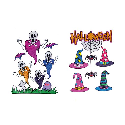 Picture of 36cm Fun Window Stickers 2 Asst
