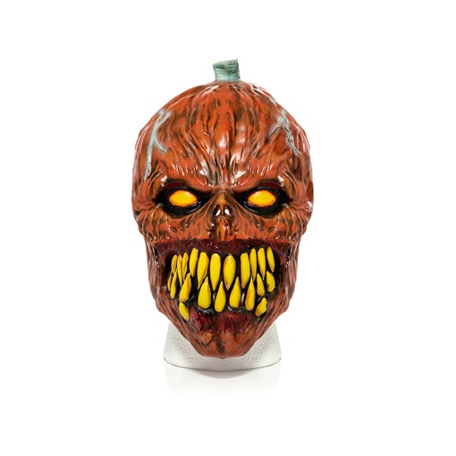 Picture of Latex Pumpkin Mask Adult