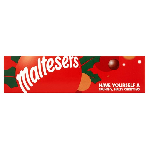 Picture of Maltesers Fairtrade Chocolate Christmas Gift Tube 75g