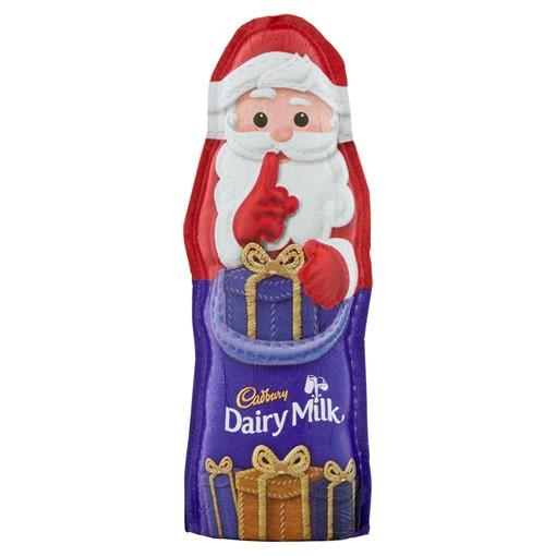 Picture of Cadbury Dairy Milk Small Chocolate Hollow Santa 45g