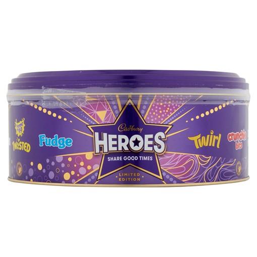 Picture of Cadbury Heroes Chocolate Tub 800g