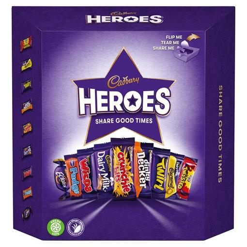 Picture of Cadbury Heroes Chocolate Carton 385g