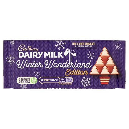 Picture of Cadbury Dairy Milk Winter Wonderland Edition Chocolate Bar 100g