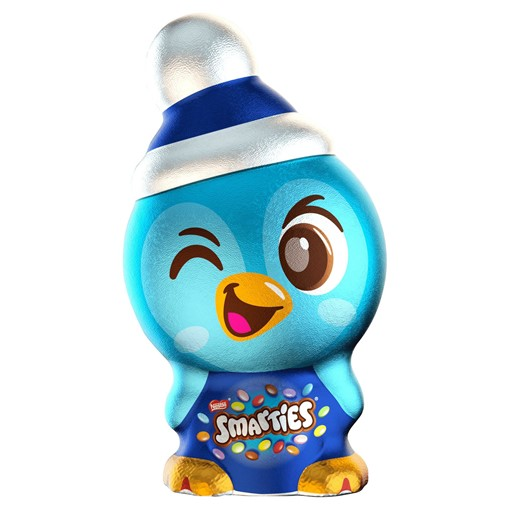 Picture of Smarties Milk Chocolate Christmas Penguin 94g