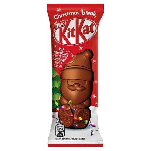 Picture of Kit Kat Santa Milk Chocolate 29g