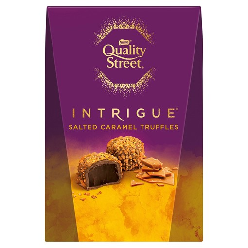 Picture of Quality Street Intrigue Salted Caramel Truffles Carton 200g